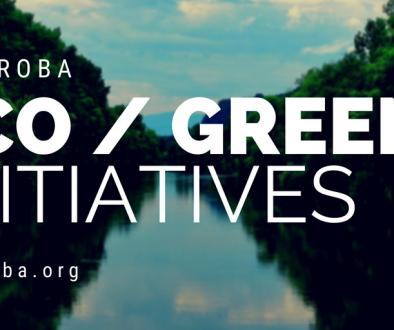 Saseroba Eco / Green Initiatives