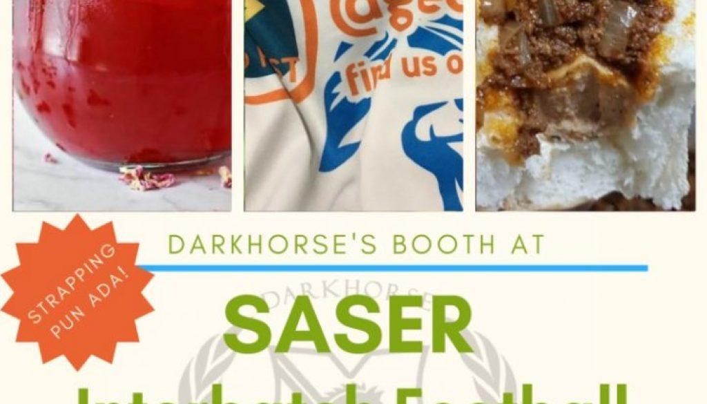 Dark Horse's Booth @ SASER Interbatch Football
